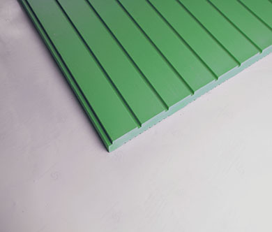 湿贴陶板-绿色槽板