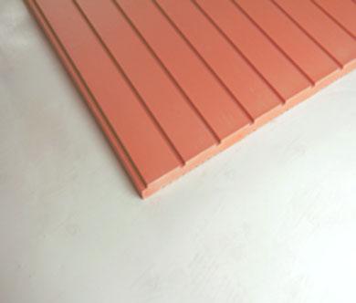 湿贴陶板-浅红色槽板